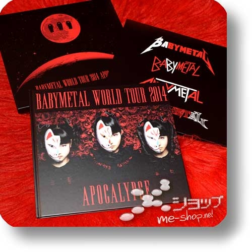 "BABYMETAL - WORLD TOUR 2014 APOCALYPSE (lim. ""THE ONE"" 6-Disc FC-Boxset 4CD+2Blu-ray+Photobook!) +Bonus-Tattooset! (Re!cycle)-27812"
