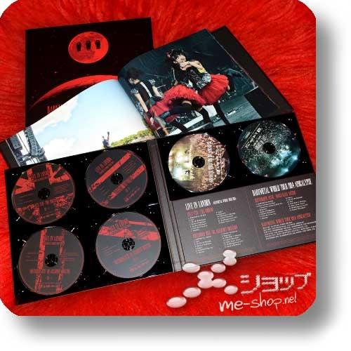 "BABYMETAL - WORLD TOUR 2014 APOCALYPSE (lim. ""THE ONE"" 6-Disc FC-Boxset 4CD+2Blu-ray+Photobook!) +Bonus-Tattooset! (Re!cycle)-27813"