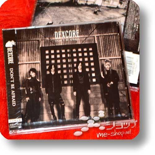 DEXCORE - DON'T BE AFRAID (lim.CD+DVD) (Deathgaze)-0