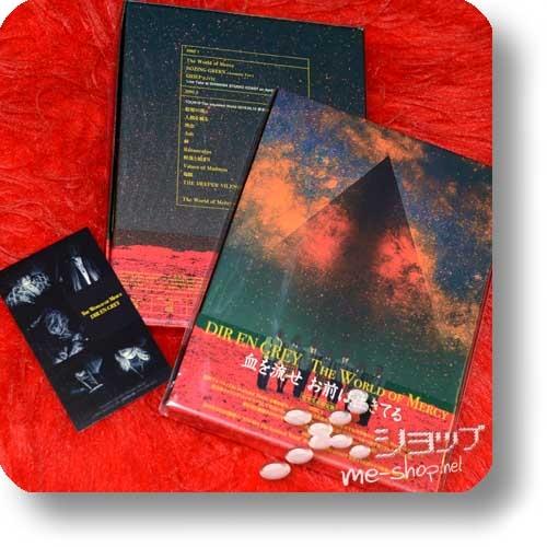 DIR EN GREY - The World of Mercy (lim.Box CD+Live-DVD) +Bonus-Ministickerset!-0