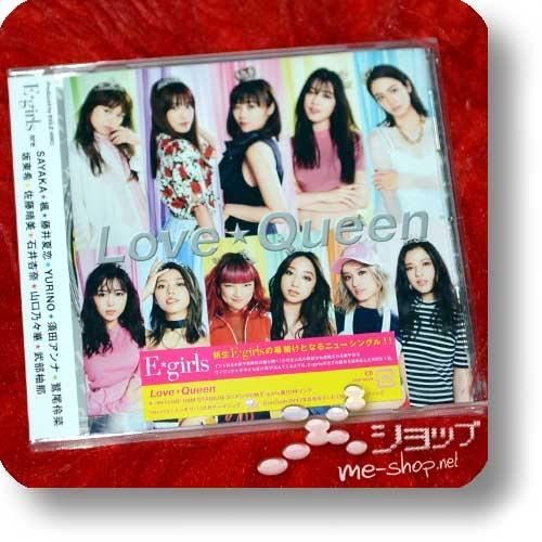 E-GIRLS - Love☆Queen (inkl.3 Bonustracks!)-0