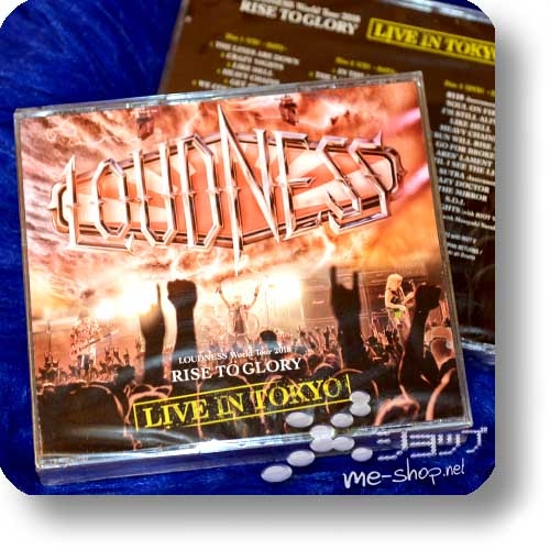 LOUDNESS - World Tour 2018 RISE TO GLORY LIVE IN TOKYO (2CD+DVD / Deutsche Pressung)-0