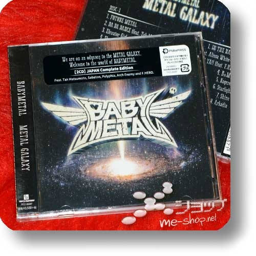 BABYMETAL - METAL GALAXY (2CD JAPAN Complete Edition) +Bonus-Lentrikular-Fotokarte!-28388