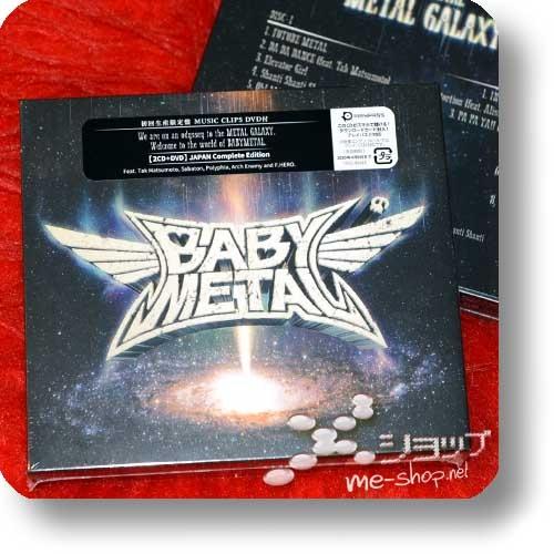 BABYMETAL - METAL GALAXY (lim.2CD+DVD JAPAN Complete Edition) +Bonus-Lentrikular-Fotokarte!-28362