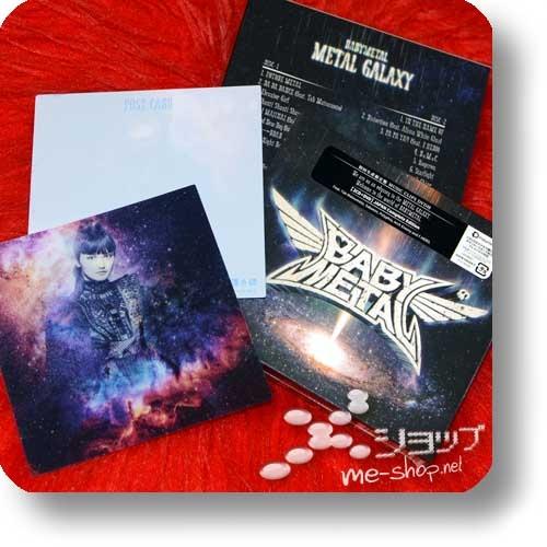 BABYMETAL - METAL GALAXY (lim.2CD+DVD JAPAN Complete Edition) +Bonus-Lentrikular-Fotokarte!-0