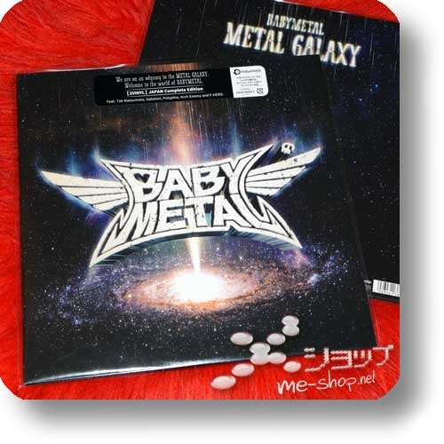 BABYMETAL - METAL GALAXY (lim.Analog 2LP JAPAN Complete Edition) -0