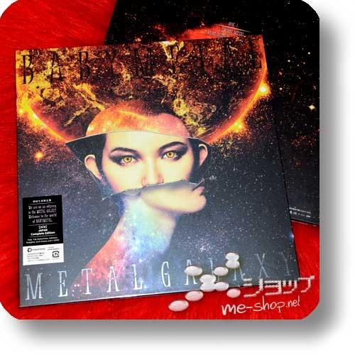 "BABYMETAL - METAL GALAXY (lim.LP-sized 2CD ""Sun Version"" JAPAN Complete Edition) +Bonus-Clearfile-0"
