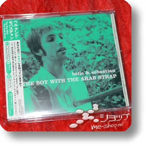 BELLE AND SEBASTIAN - The Boy With The Arab Strap (Japan-Pressung) (Re!cycle)-0