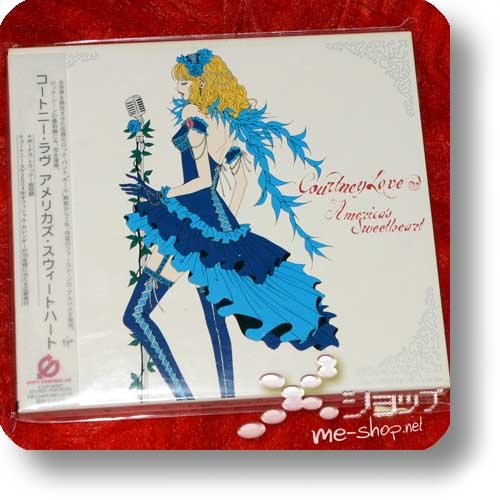 COURTNEY LOVE - America's Sweetheart (Japan-Pressung inkl. Bonustrack und Pappschuber) (Re!cycle)-0