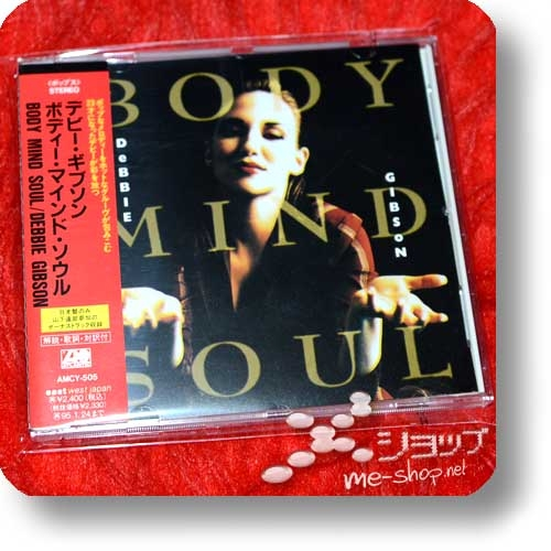 DEBBIE GIBSON - BODY MIND SOUL (Japan-Pressung inkl. Bonustrack!) (Re!cycle)-0
