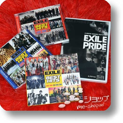 EXILE - BEST HITS LOVE SIDE x SOUL SIDE (lim.mu-mo Special Edition 2CD+2DVD+EXILE PRIDE Bonus-DVD) (Re!cycle)-0