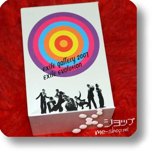 EXILE - EXILE GALLERY 2007 EXILE EVOLUTION (lim.Box 7DVD+Postcard/Stickerset / Live only!) (Re!cycle)-0