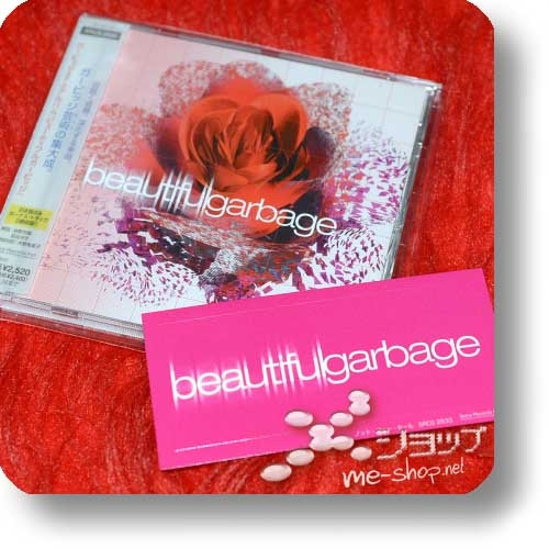 GARBAGE - Beautiful Garbage (Japan-Erstpressung inkl.2 Bonustracks und Sticker!) (Re!cycle)-0