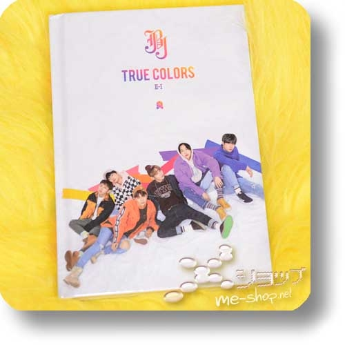 JBJ - 2nd Mini Album TRUE COLORS II-I (CD+Photobook / ORIG.KOREAPRESSUNG)-0