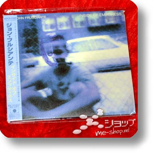 JOHN FRUSCIANTE - Inside Of Emptiness (Japan-Pressung / Digipak) (Re!cycle)-0