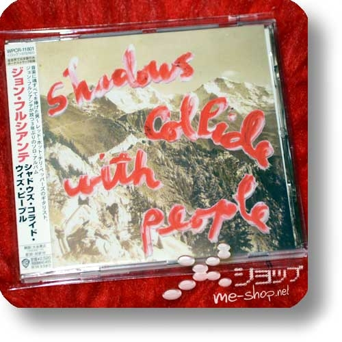 JOHN FRUSCIANTE - Shadows Collide With People (Japan-Pressung inkl.Bonustrack) (Re!cycle)-0