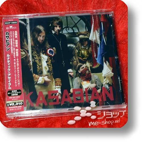 KASABIAN - Lunatic Asylum (Japan-Pressung inkl.4 Bonustracks!) (Re!cycle)-0