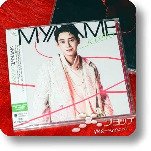 MYNAME - KISEKI (Japan 6th Album / lim. GUN WOO ban / MO only!)-0