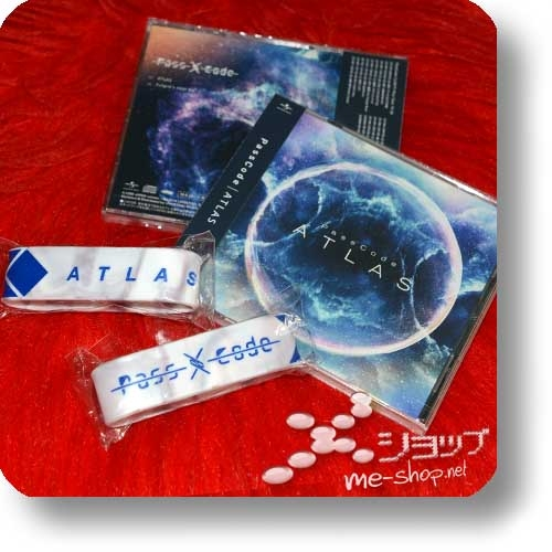PASSCODE - ATLAS (inkl.Bonustrack) +Bonus-Silikonarmband!-0