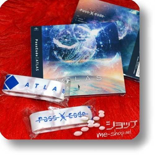 PASSCODE - ATLAS (lim.CD+DVD) +Bonus-Silikonarmband!-0