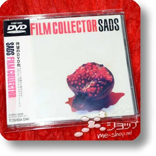 SADS - FILM COLLECTOR (Live+PV-DVD) (Re!cycle)-0