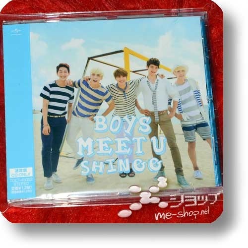 SHINee - BOYS MEET U (inkl.3 Bonustracks) (Re!cycle)-0