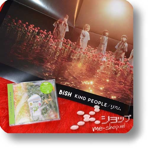 BiSH - KiND PEOPLE / Rhythm (lim.CD+Live-DVD)+Bonus-Promoposter!-0
