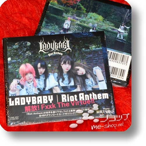 LADYBABY - Riot Anthem (lim.Photo-/Lyricbook+Bonus) -0