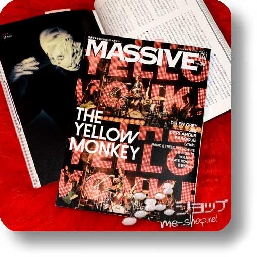 MASSIVE Vol.35 (Dezember 2019) THE YELLOW MONKEY, Dir en grey, D'erlanger, lynch...-0
