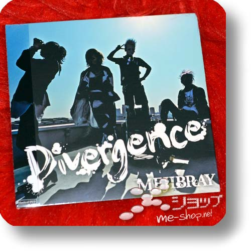 MEJIBRAY - Divergence (Onetrack-limited DVD / live only!) (Re!cycle)-0