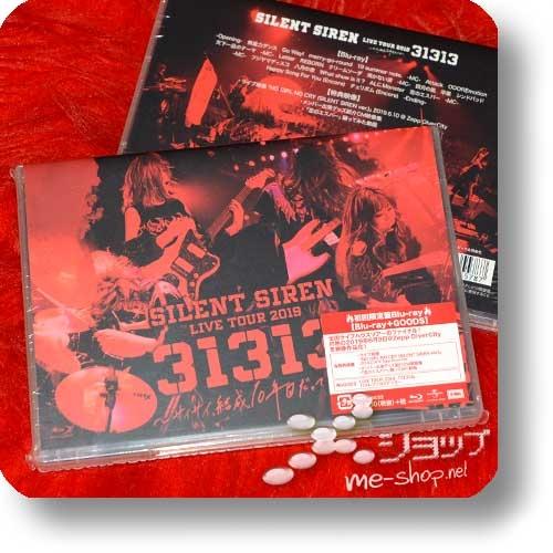 SILENT SIREN - Live Tour 2019 [31313] Saisai. Kessei 10 nen me datte yo (Blu-ray / lim.1.Press +Bonus-Backstagepass-Sticker!)-0