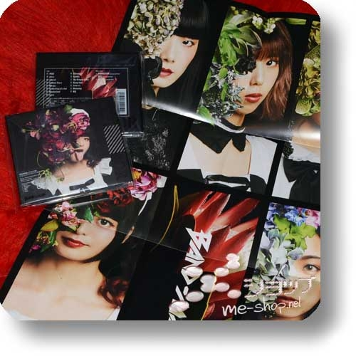 BAND-MAID - CONQUEROR (lim.CD+Blu-ray A-Type inkl.Stickersets)+Bonus-Promoposter!-0
