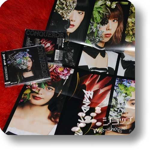 BAND-MAID - CONQUEROR (lim.CD+DVD B-Type)+Bonus-Promoposter!-0