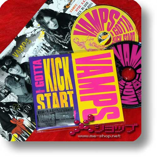 VAMPS - I GOTTA KICK START NOW (lim.CD+DVD / HYDE / K.A.Z.) (Re!cycle)-0