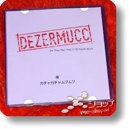 "DEZERMUCC - Mushi / Gachagachamukumuku (lim.2-Track-CD / MUCC×DEZERT [Is This The ""FACT""?]TOUR 2019 live only!) (Re!cycle)-0"
