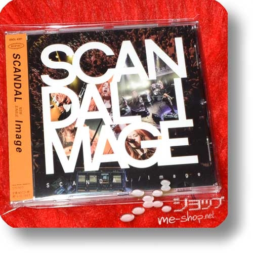 """SCANDAL - IMAGE (1.Press inkl.""""VERY SCANDAL""""-Extrabooklet) (Re!cycle)-29188"""