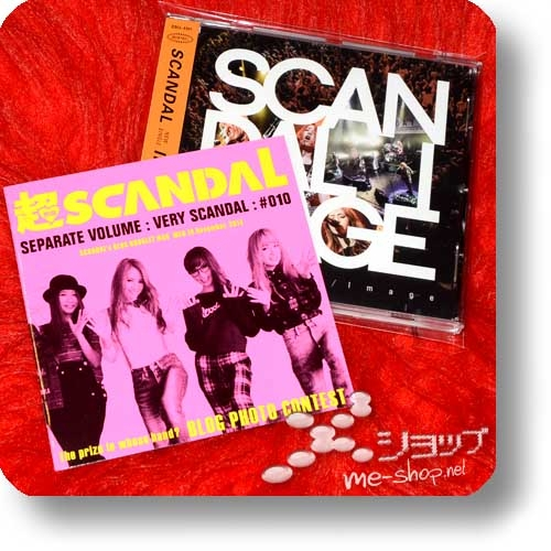 """SCANDAL - IMAGE (1.Press inkl.""""VERY SCANDAL""""-Extrabooklet) (Re!cycle)-0"""