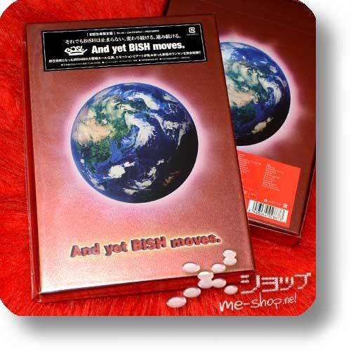 BiSH - And yet BiSH moves. (lim.Boxset Live-Blu-ray+2CD+Photobook) +Bonus-Promoposter!-0