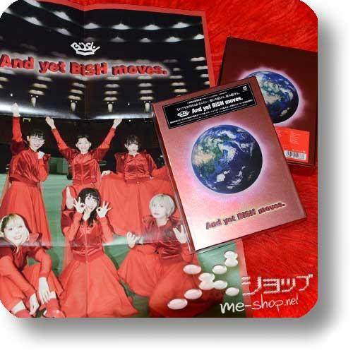 BiSH - And yet BiSH moves. (lim.Boxset Live-Blu-ray+2CD+Photobook) +Bonus-Promoposter!-29429