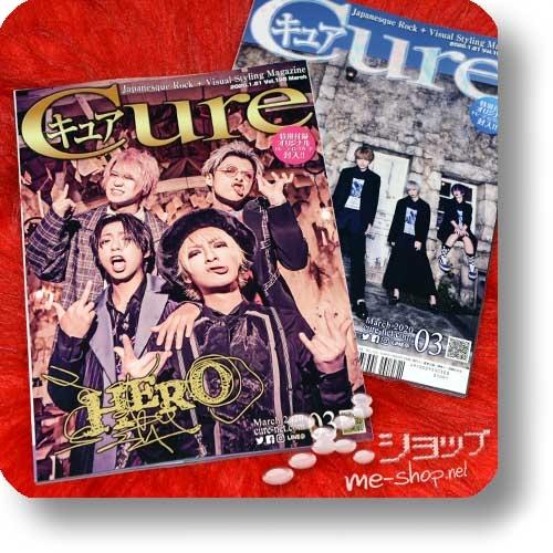 CURE Vol.198 (März 2020) HERO / UNiTE, Ensoku, Poidol, Mamireta, Xaa Xaa...-0