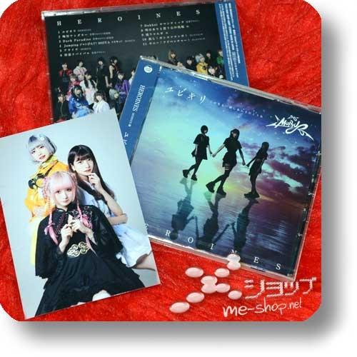 HEROINES - Yubikiri ~Kono Saki Mo Issho Ni Ayunde Ikou Ne~ (MOBIUS ban) +Bonus-Fotokarte!-0