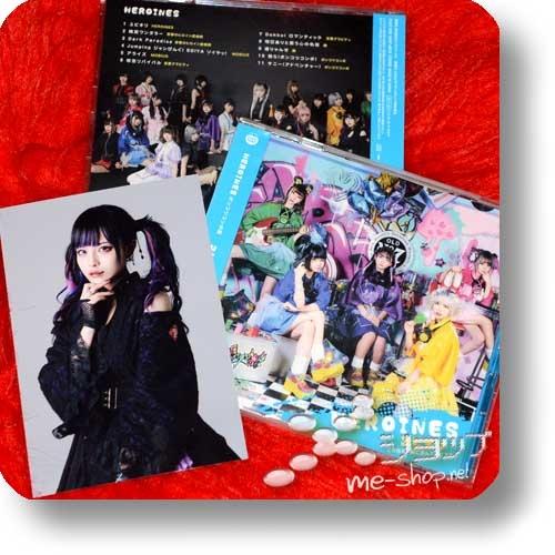HEROINES - Yubikiri ~Kono Saki Mo Issho Ni Ayunde Ikou Ne~ (Ponkokkopon ban) +Bonus-Fotokarte!-0