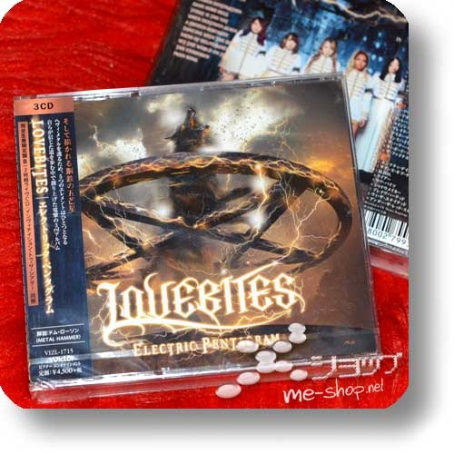 LOVEBITES - ELECTRIC PENTAGRAM (lim.3CD B-Type)-0