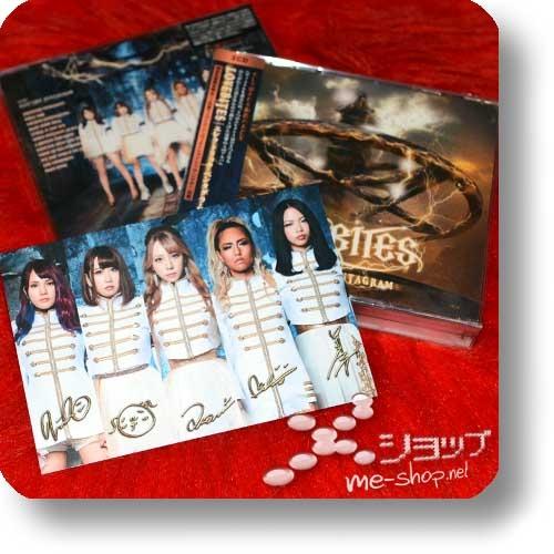 LOVEBITES - ELECTRIC PENTAGRAM (lim.3CD B-Type) +Bonus-Fotopostkarte!-0