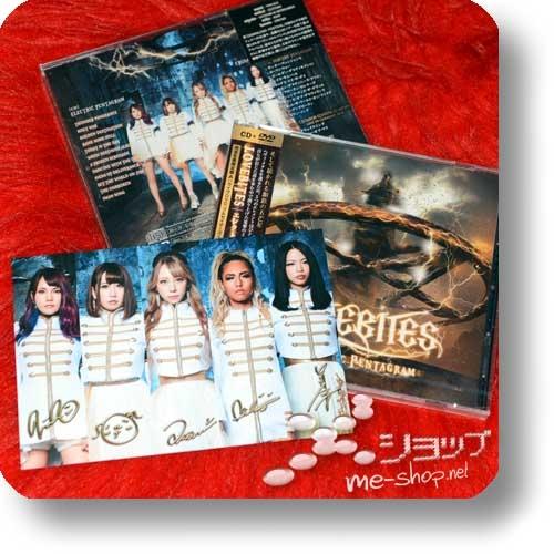 LOVEBITES - ELECTRIC PENTAGRAM (lim.CD+Live in Wacken-DVD A-Type) +Bonus-Fotopostkarte!-0