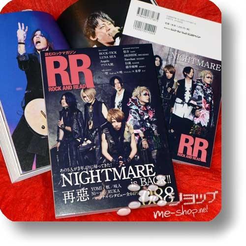 ROCK AND READ 088 - NIGHTMARE, Buck-Tick, Luna Sea, Dezert, Razor, Alice Nine., lynch....-0