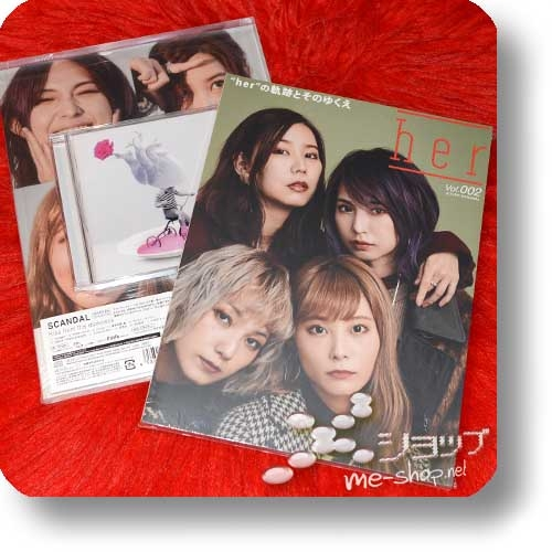 SCANDAL - Kiss from the darkness (lim.CD+Magazine B-Type) +2 Bonus-Clearfiles!-0