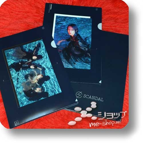 SCANDAL - Kiss from the darkness (lim.CD+Magazine B-Type) +2 Bonus-Clearfiles!-29493