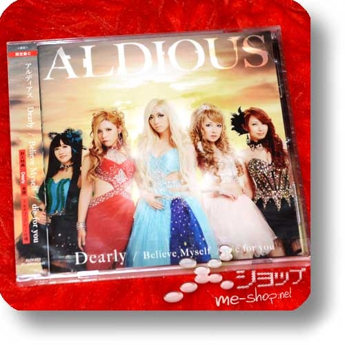 ALDIOUS - Dearly / Believe Myself / die for you (lim.CD+Booklet C-Type inkl.Score Booklet)-0