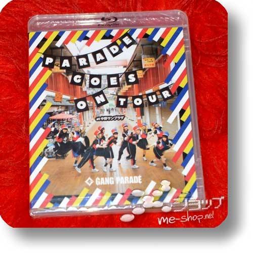 GANG PARADE - PARADE GOES ON TOUR (Live-Blu-ray) +Bonus-Promoposter!-29608